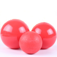 Products For Pet Puppy Dog Red Solid Natural Rubber Elastic Pet Ball Toys, Bite Resistant Dog Toy Squeakers Training Toys
