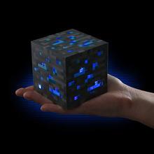 Minecraft Light Up Redstone Ore Square Minecraft Night light LED Minecraft Light Up Diamond Ore(China (Mainland))