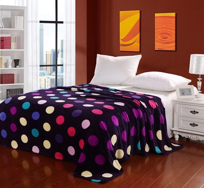 Hot 20 kinds 200*230CM thickening coral fleece blanket cartoon flannel sheets air conditioning thin quilts(weight about 1200G)(China (Mainland))