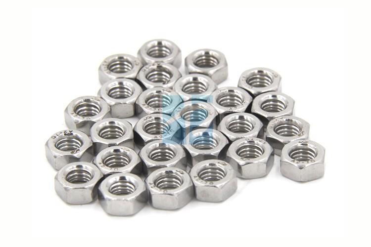 (50 pc/lot) M1.6,M2,M2.5,M3,M4,M5,M6 DIN934 18-8 Stainless Steel A2 micro Hex Nuts , Metric