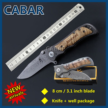 Cabar 2015 New Arrival 8cm Single Blade Hunting Camping Diving Outdoor Knife Top Quality Blade Free Shipping