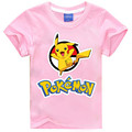 2016 POKEMON GO kids t shirt baby girl clothes short sleeve tshirt kids boys pikachu clothing