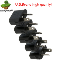 Buy U.S. brand high quality! 5 pcs US AU Plug adaptor plug convertor Travel Adapter Power plug Converter Wall Plug for $4.59 in AliExpress store