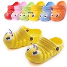 Enfants jardin trou chaussures été enfants bébé Caterpillar mules sabots eva diapositives pantoufles plage Flip Flops garçons fille(China (Mainlan