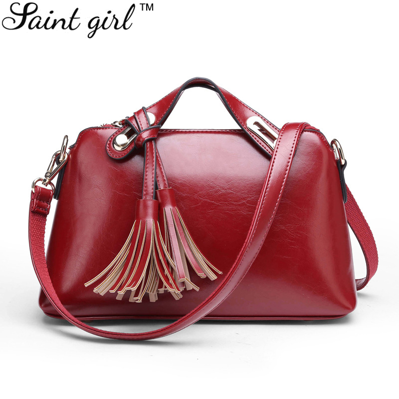 Saint Girl Solid Shell Bag Candy Color Fashion Women Crossbody & Messenger Bags PU Casual Totes Zipper Handbag For 2016 SNS082
