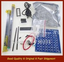 Free Shipping New 3D 8 8 8 3mm White LED Blue Ray LightSquared DIY Kit LED