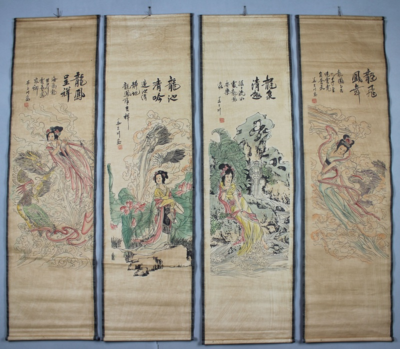 Antique Chinese Scrolls: Online Buy Wholesale Long Scrolls From China Long Scrolls