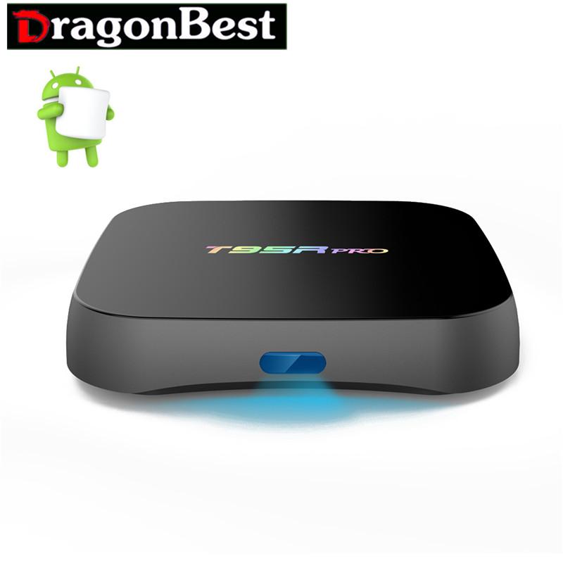 Smart Tv Box T95R PRO 2G 16G TV Box Android 6.0 S912 Octa-core cortex-A53 2.4G +5G Wifi Bluetooth Gigabit Media Player