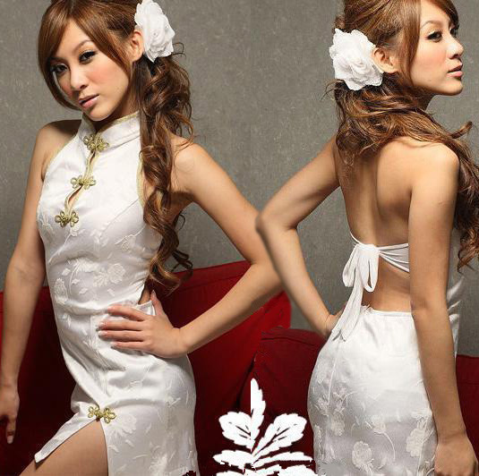 New COSPLAY Chinese cheongsam dress Free shipping Sexy lingerie women costumes Sex Products toy Sexy underwear Role play(China (Mainland))