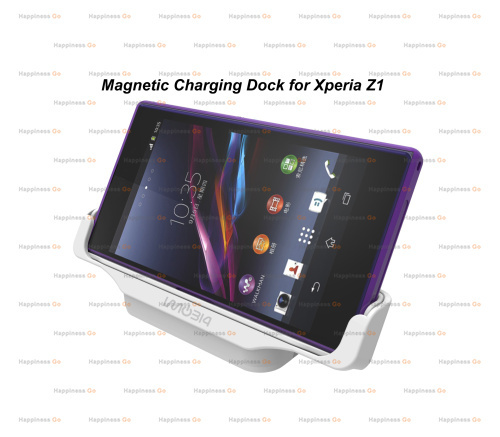 Magnetic Charging Dock Station Charger Sony Z1 DK31 L39h - Happiness go store