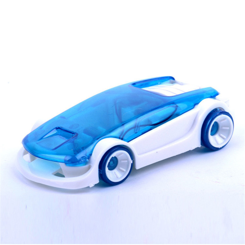 DIY assembled small production educational toys eco-friendly brine power car salty water car(China (Mainland))