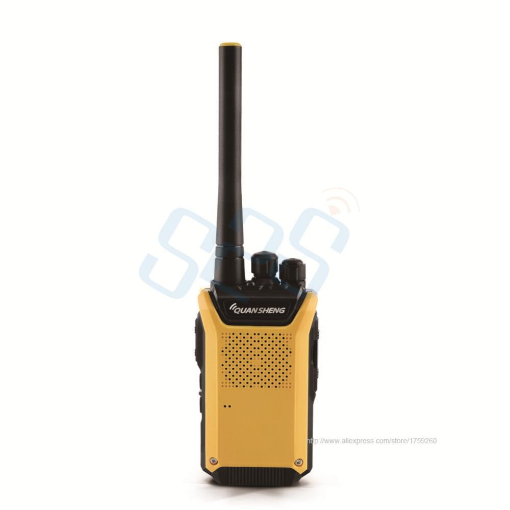 10pcs New product Big content battery QUANSHENG TG-K88mini UHF400-480MHZ Handeld Two way radio/Walkie talkie Multi channel Scan(China (Mainland))