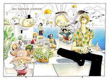 Free shipping One piece Manga Strong world japan anime Art Silk Wall huge Poster 24×36″ OP41