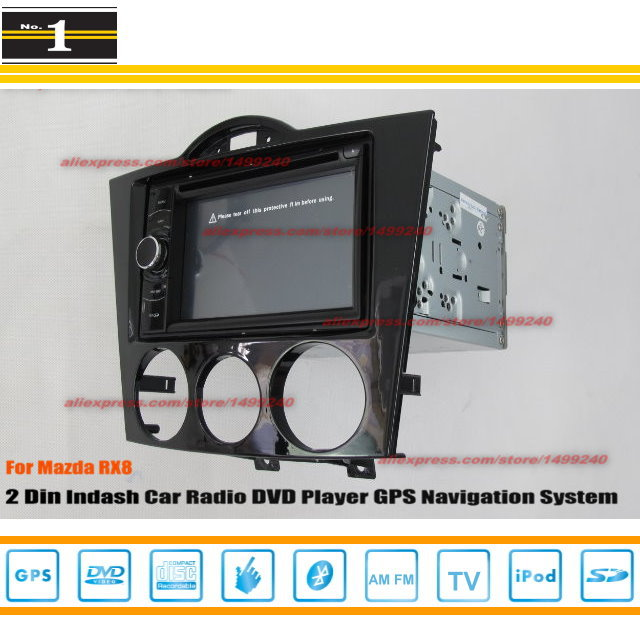 For Mazda RX8 RX 8 2003~2012 - Car Radio Stereo CD DVD Player / HD Touch Audio Video GPS Navigation System(China (Mainland))