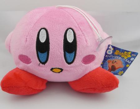 """1(pcs) x New Super Cute Pink BANPRESTO KIRBY 4.2"""" Smile Soft Plush Stuffed Toy Great Gift for Kids FREE SHIPPING to WORLDWIDE(China (Mainland))"""