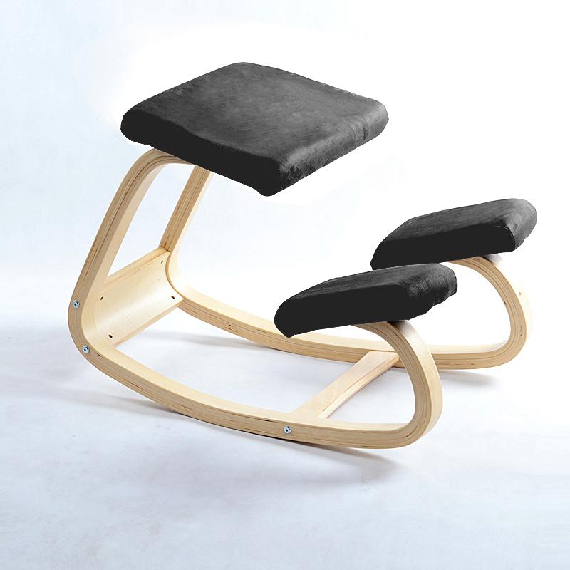 ergonomic wood kneeling chair beurteilungen online. Black Bedroom Furniture Sets. Home Design Ideas