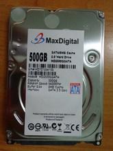 Brand New 2.5inch HDD 500GB 5400Rpm 8M Buff SATA Internal Hard Disk Drive For Laptop Notebook MaxDigital/MD500GB SATA 2.5inch(China (Mainland))