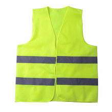 500 pcs Reflective Vest Working Clothes Provides High Visibility Day & Night For Running Cycling Walking Etc Warning Safety Vest()