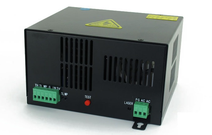 50W CO2 Laser Power Supply for CO2 Laser Engraving Cutting Machine HY-T50(China (Mainland))