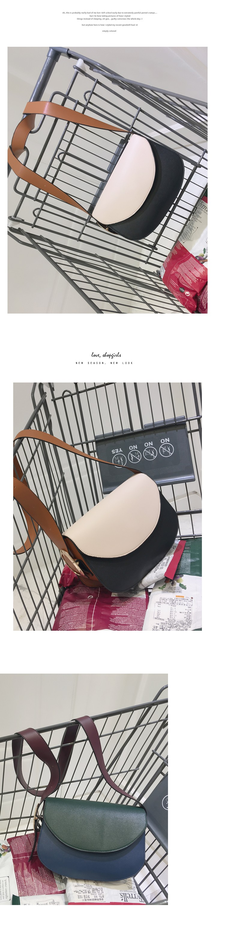 2016 Women Leather Handbags Famous Brand Women Small Messenger Bags Female Crossbody Shoulder Bags Clutch Purse Hit Color Bag 1