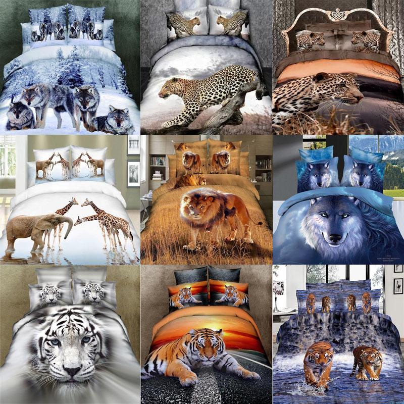 Elephant Lion Tiger