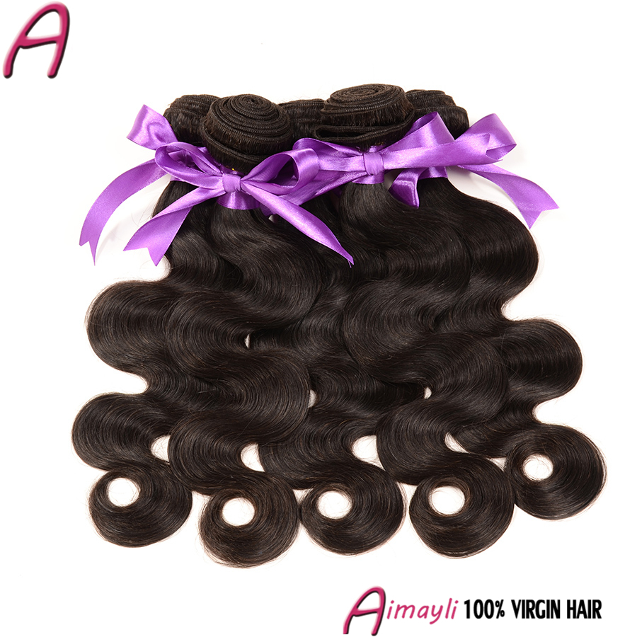 7a Brazilian Virgin Hair 4 Bundles Body Waves 100g Virgin Brazilian Wet And Wavy Hair 1b Grace Hair Products Brazilian Body Wave