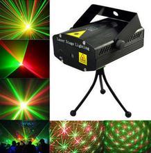 Mini R&G Laser Light Lighting Lamp Projector DJ Disco Stage Show Club Bar #A(China (Mainland))