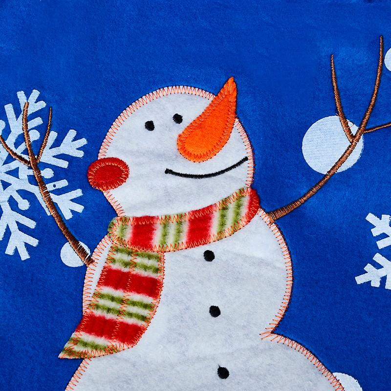 2016 Feliz Decorações de Natal Boneco de Neve Conjunto Tampa de Assento Do Toalete e Tapete Do Banheiro Tapete Contorno Kerst Adornos de Navidad Parágrafo Casa