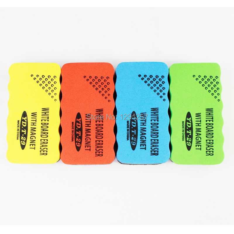 30PCS Free Shipping Hot Sale Useful Nice Magnetic Drywipe Whiteboard Eraser Cleaner aw36IG(China (Mainland))