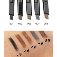 Brand makeup eyebrow automatic pencil makeup 5 style paint for the eyebrow pencil cosmetics brow eye