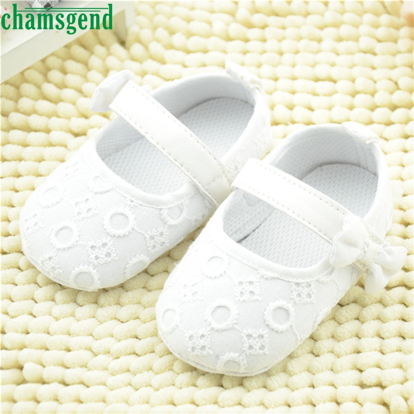 CHAMSGEND Best Seller Fashion baby shoes beloved Kids Baby Embroidered Shoes Bowknot Toddler Soft Sole Shoes S40(China (Mainland))
