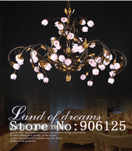 Features Personalized Fashion Creative Design in Korean Rural Style Cherry Flower Chandelier Light Lighting +Free shipping!(China (Mainland))