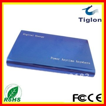 wholesale,High capacity lithium polymer battery TIG-001,4000mAh External battery,battery charger