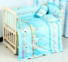 Promotion! 10PCS crib bedding sets for kids,baby crib bedding sets,baby care bed (bumpers+matress+pillow+duvet)