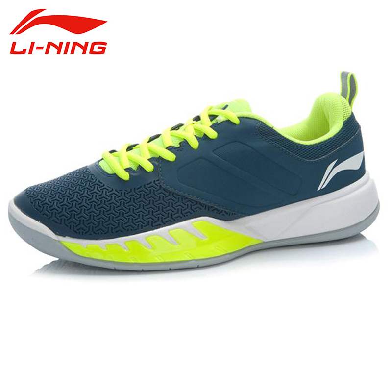 LI-NING Men Men <font><b>Tennis</b></font> <font><b>Shoes</b></font> Trainning Breathable Anti-Slippery Hard-Wearing Support Sneakers Sport <font><b>Shoes</b></font> ATTJ017 XYW008