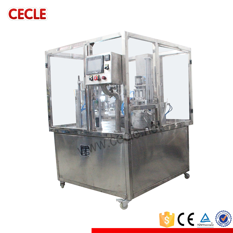 New arrival china suppliers coffee capsule filling and sealing machines for k-cup,lavazza(China (Mainland))