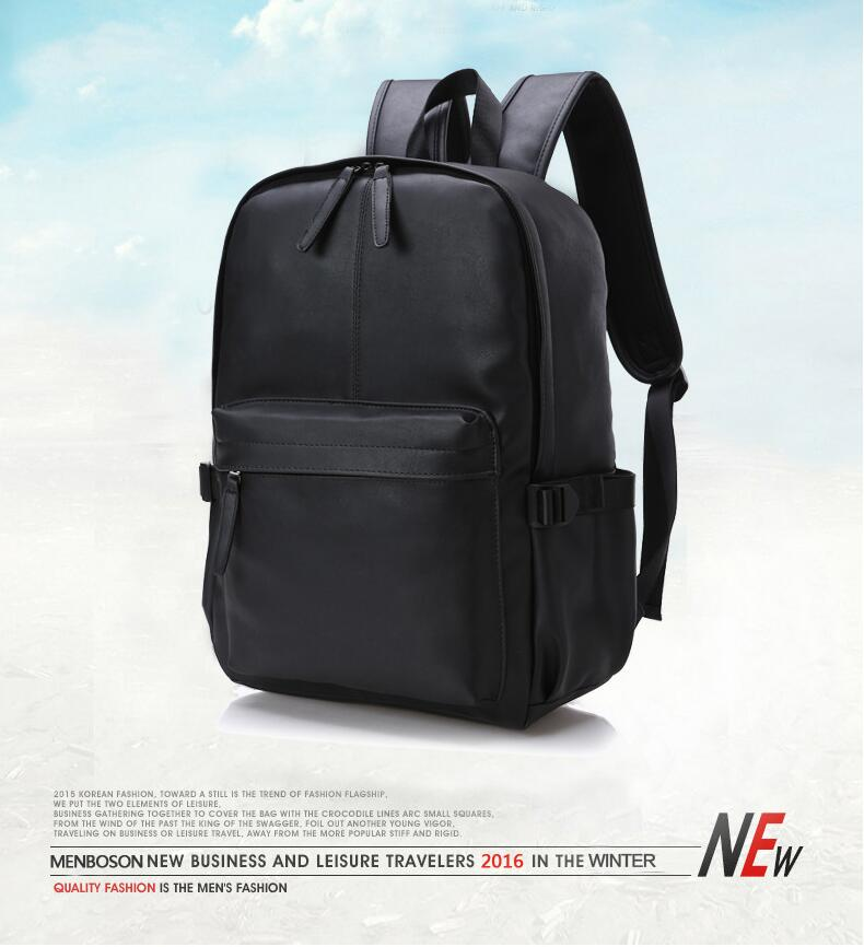 2131367ec129 Chuwanglin Stylish Men Large Capacity Bag Travel Laptop Backpack PU leather  College Tide Casual Men Backpacks School Bag ZDD9132. aeProduct.