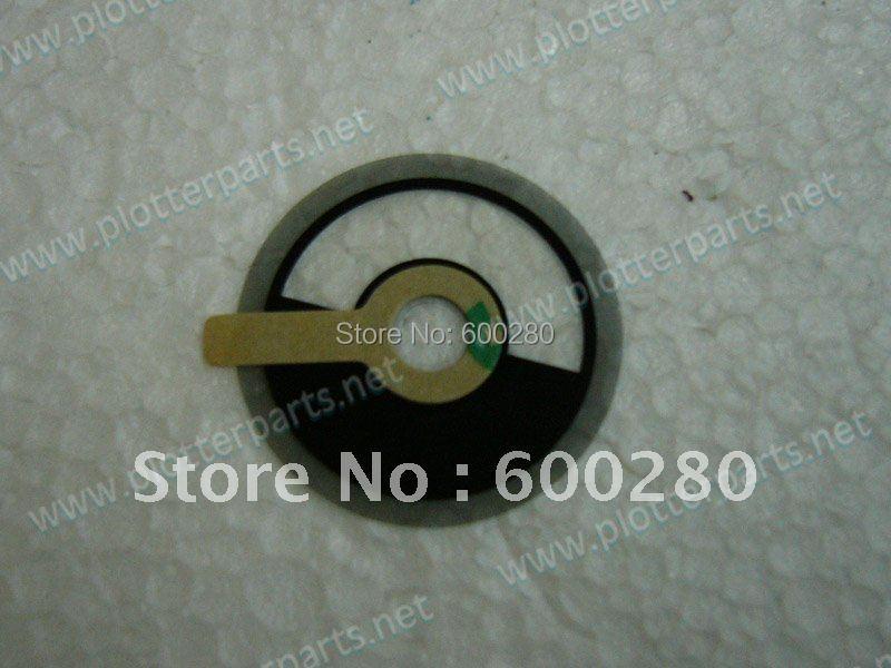 Q5669-60702 HP Designjet T610 T1100 T770 T620 T1200 T1120 Z2100 Z3100 Z3200 Z5200 Encoder disk Plotter parts used(China (Mainland))