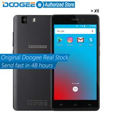 Doogee X5 mobile phones 5.0InchHD 1GB RAM+8GB ROM Android 5.1 Dual SIM MT6580 Quad Core 1.0Ghz 2400mAH WCDMA WIFI(China (Mainland))
