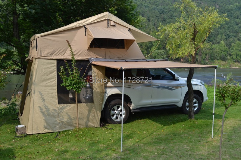 thickening car sun roof leak-proof tent camping tent outdoor double than a generation of fat(China (Mainland))