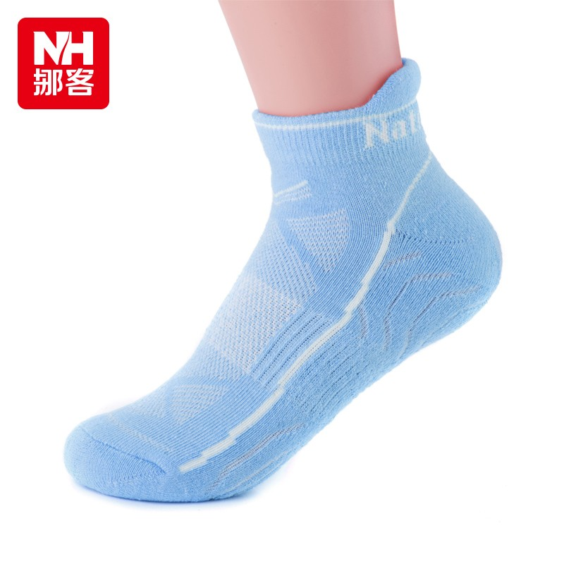 NH14W111-Z Outdoor sports socks female cotton dry fit socks Two pairs of socks with soft and comfortable hiking<br>