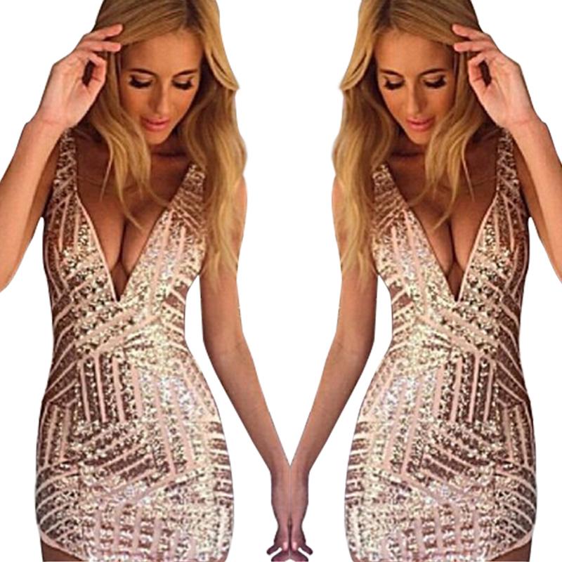 2015 deep v-neck nightclub sexy dress backless zipper tights slim bodycon women dress vestido de festa mini pencil summer dress(China (Mainland))
