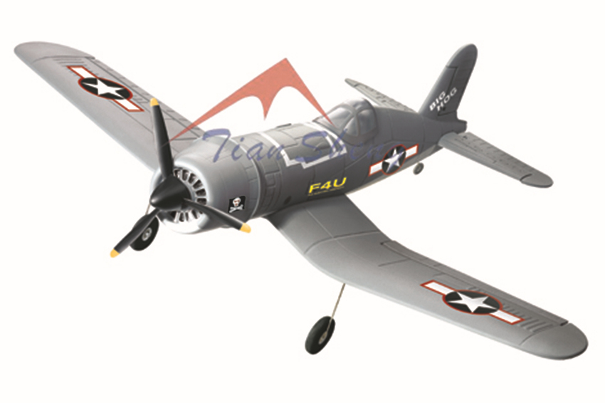 Tiansheng F4U Pirate Gray RTF RC Model Airplane Aircraft Reachargeable Battery(China (Mainland))