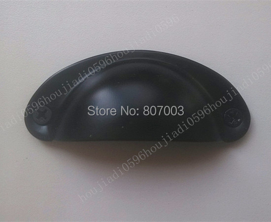 Гаджет  50pcs/lot Steel Kitchen Cabinets black Handle Vintage Drawer Knobs Pulls FREE SHIPPING-P None Мебель