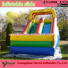 Inflatable Large PVC Inflatable Slide Water Park Slip N Slide Commercial Jumping Castle(China (Mainland))