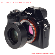 Buy Viltrox M42-E Focal Reducer Speed Booster Lens Adapter Turbo M42 mount Lens Sony A6300 A6000 A7 A7R A7S A7RII NEX-7/6 for $82.63 in AliExpress store