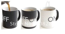 on&off wholesale and retail free shipping color changing mug,color changing cup,Novelty product,novelty mug
