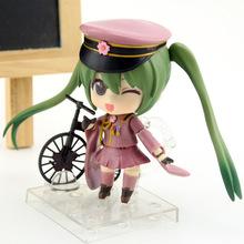 Anime Figure 10 CM Nendoroid Hatsune Miku Senbon Zakura Ver. #480 PVC Action Figure Collection Model Toy