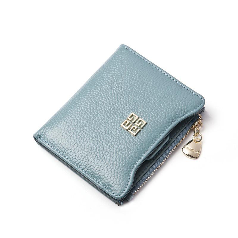 CHICHI Brand Women Wallets 2016 Luxury Genuine Leather Purse Design Short Wallets Female 3 Fold Wallet Women Clutch Handbag Gift(China (Mainland))