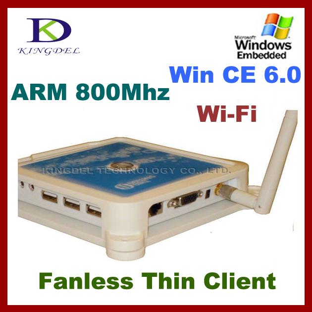 KINGDEL Mini PC, PC Share Terminal with ARM11 800Mhz, Microphone, 3*USB, Windows CE 6.0